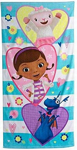 Disney Doc McStuffins with Lambie & Stuffie Cotton Beach Tow