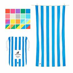 Dock & Bay Lightweight Beach Towel for Travel - Extra Large