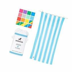 Dock & Bay Microfiber Beach Towels for Travel - Quick Dry To