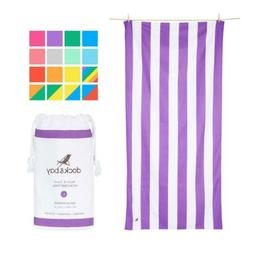 Dock & Bay Microfibre Beach Towels for Travel - Quick Dry To