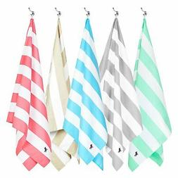Dock and Bay Quick Dry Beach Towels - Compact and Sand Free