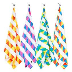 Dock and Bay Sand Free Beach Towel - Festival Collection - Q