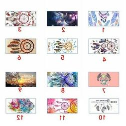 Dream Catcher Printed Beach Towel Rectangle Microfiber Towel