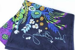 Easter Gift Idea Vera Bradley Beach Towel Midnight Blues NWT