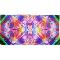 Explore the Multiverse All Over Beach Towel
