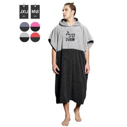 Vulken Extra Large Thick Hooded Beach Towel Changing Robe. S