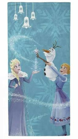 Disney Frozen Beach Towel 28x58 Inches 100% cotton NEW