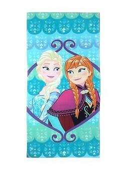 "Disney Frozen Spring Fever 28"" x 58"" Cotton Pool/Beach/Bath"