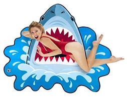BigMouth Inc Gigantic Shark Beach Blanket– Fun Beach Blank