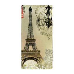 CafePress Girly Lace Paris Eiffel Tower Beach Towel