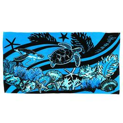 Hawaii Hangover Hawaiian Pattern Luau Tropical Beach Towel I