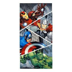 Marvel Heroes Avengers Iron Man Hulk Thor Beach Towel Pool B