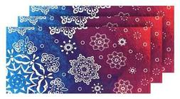 Hilasal Watercolor Printed Soft Beach Towel - Blue, 30 x 60