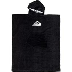 Quiksilver Hooded Poncho Beach Towel One Size Black