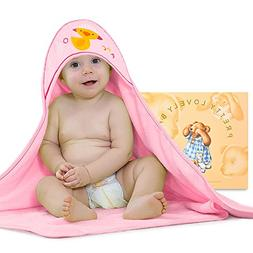 Baby Hooded Towel, Extra Soft Water Absorbent Towel - Large
