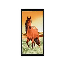 Horse Beach Towel Large 30 x 60 - Soft 100% Cotton by Hencel
