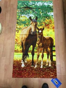 Horses Beach Towel Secretariat Pool Souvenir 30x60