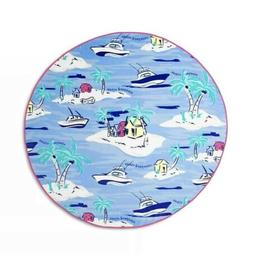 Island Scene Round Beach Towel - Blue - Vineyard Vines. Targ