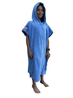 LifeStyle Co. Kids Hooded Towel Swimming Robe Hooded Warm Po