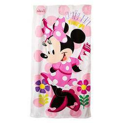 Disney Kids Minnie BathTowels Beach towels 100% Cotton 75*15