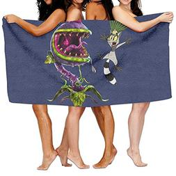 Uolongqul KING JULIEN Plants Vs Zombies Bath Towel Beach/Bat