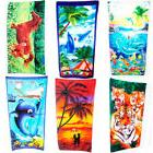 1 Jumbo Beach Pool Bath Towel Swim Absorbent Microfiber Dryi