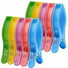 10 Pack IPOW Towel Clips for Beach Chairs Or Lounge Chair in