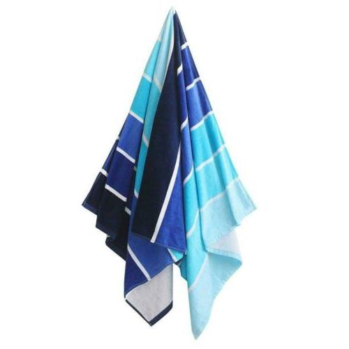 Exclusivo Beach Towel, Pool Gradient Blue