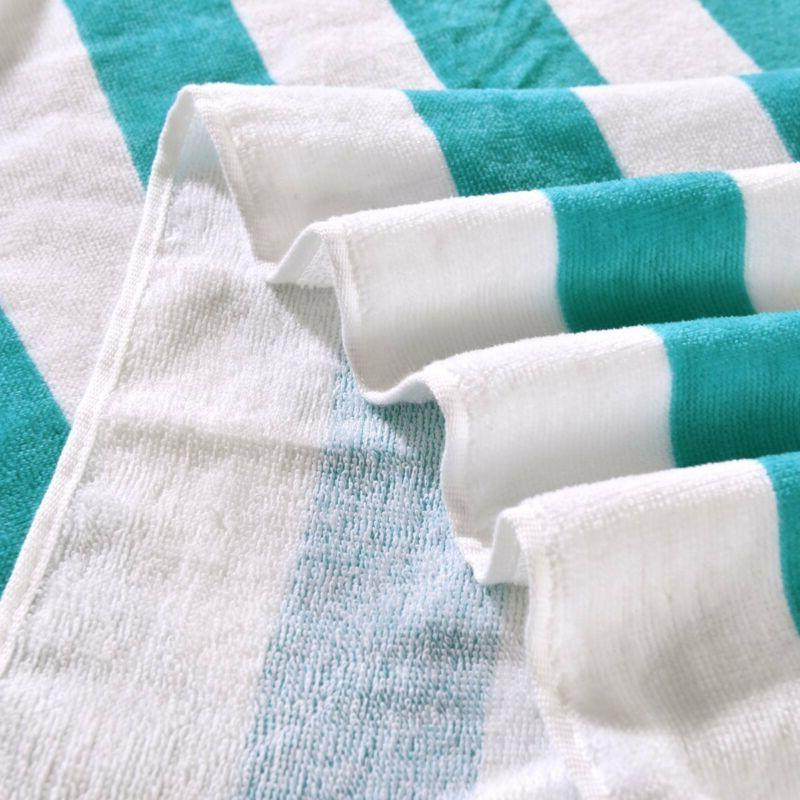 Exclusivo Cabana Striped Turquoise And