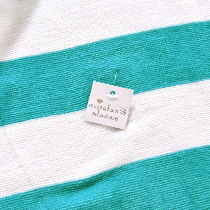 Exclusivo Cotton Cabana Striped Turquoise