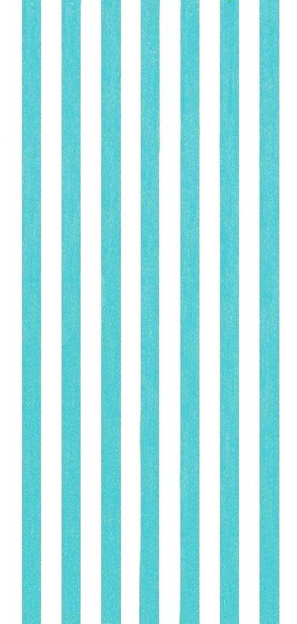 30 x60 cabana stripes turquoise teal beach