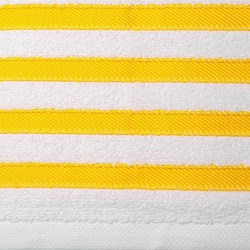 Paradise Linen 4 100% USA Cotton Bath Sheets 4 Spa Quality Luxury Absorbent Durable. Yellow Stripes