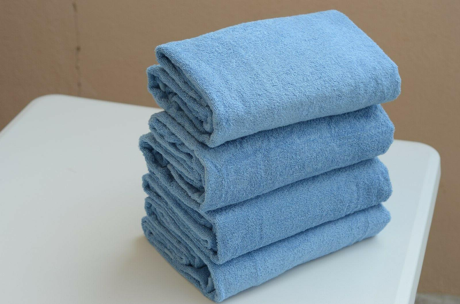 4-PACK COTTON TOWELS 30x60 in. HOTEL QUALITY!