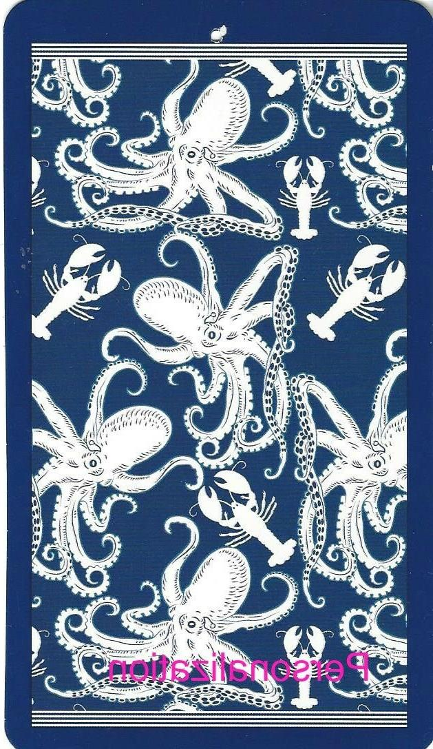40 x 72 vintage octopus and lobster