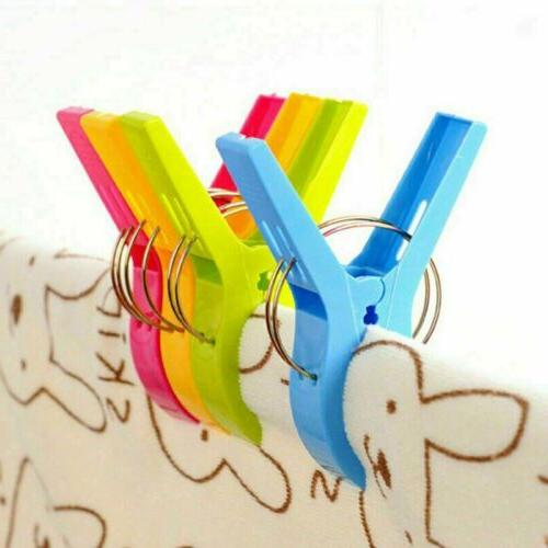 4Pcs Large Beach Chair Sunbed Pegs Holding Pool Cloths