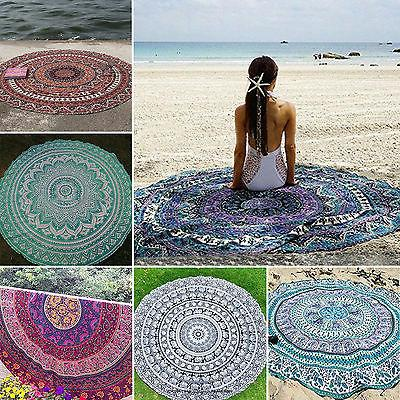 Indian Beach Throw Mat