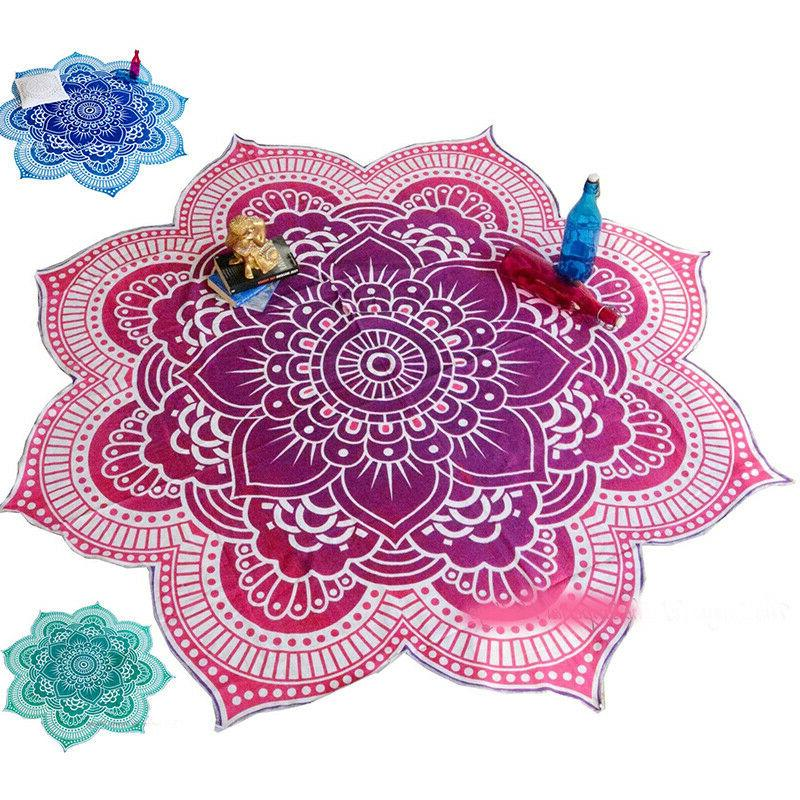 Boho Hippie Mandala Towel Beach Yoga Mat