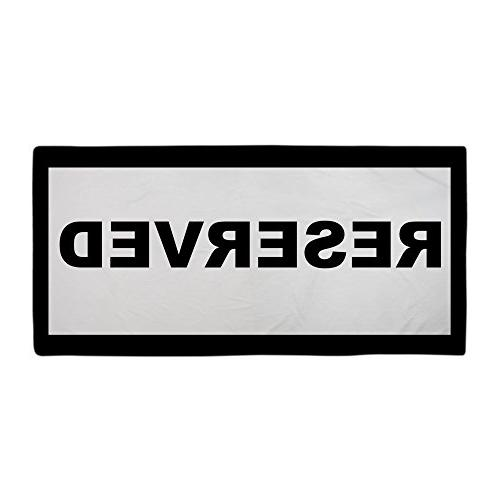 CafePress - Reserved Beach Towels - Large Beach Towel, Soft
