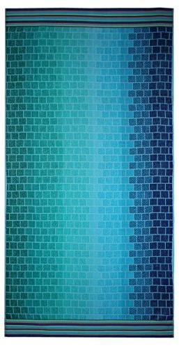 Cotton Craft Jacquard Double Beach Tile - Thick Pile - - Pure Cotton Vibrant