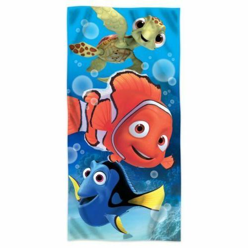 Disney Finding Nemo, Dory, and Squirt Turtle Fiber Reactive