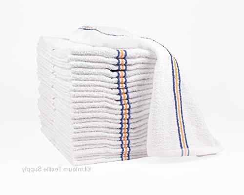 Linteum Textile strong & durable cotton Bar Towels SUPER MOP