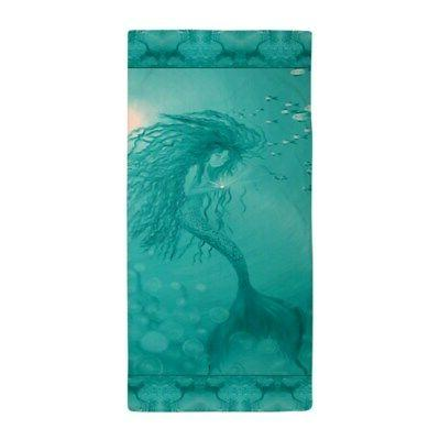 aqua mermaid beach towel 1214685459