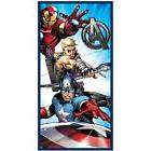 MARVEL AVENGERS BEACH TOWEL KIDS SWIM / BATH NEW