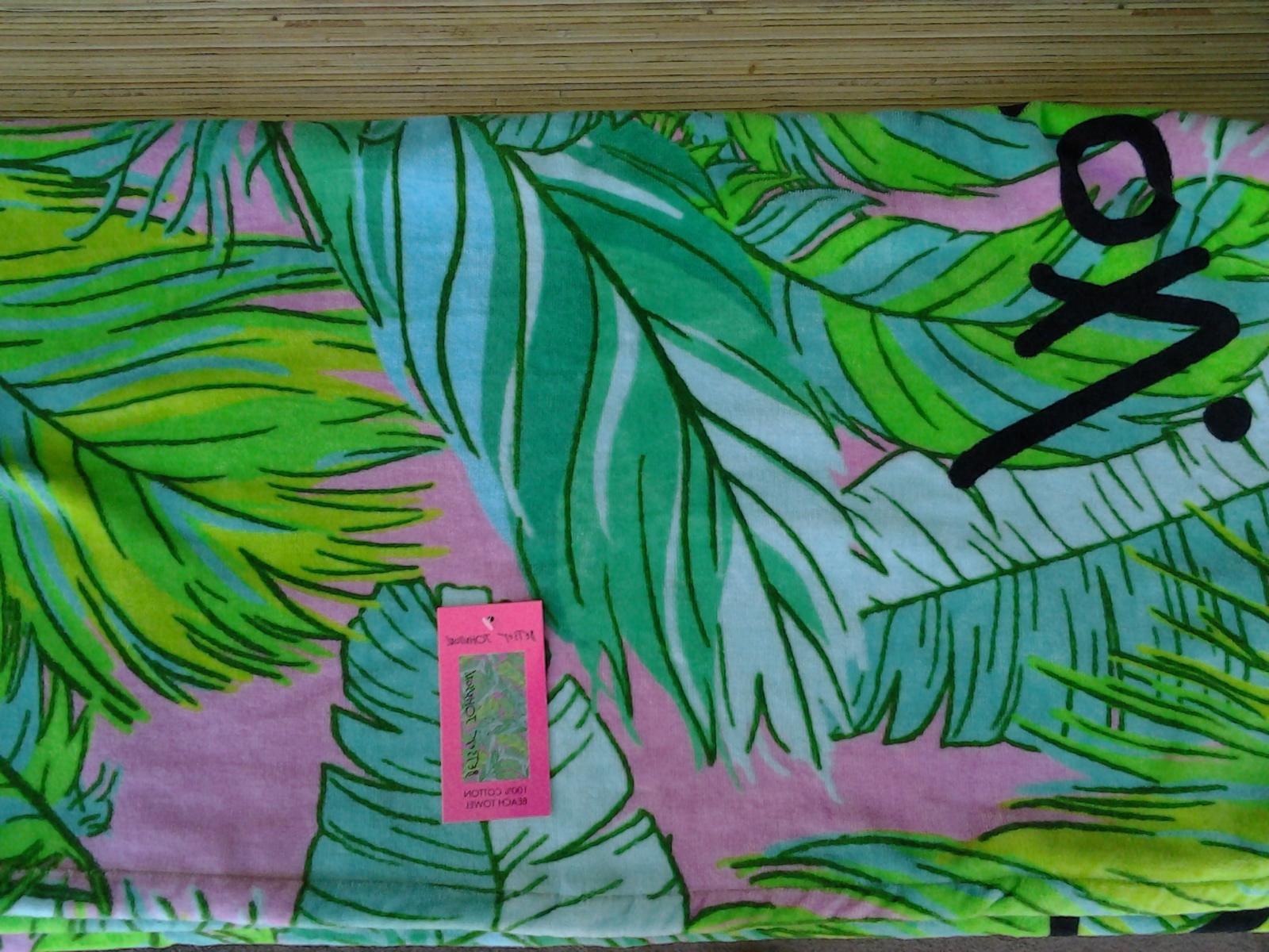 AWESOME LARGE Size Betsey Johnson BEACH TOWEL 35 X 66 inches