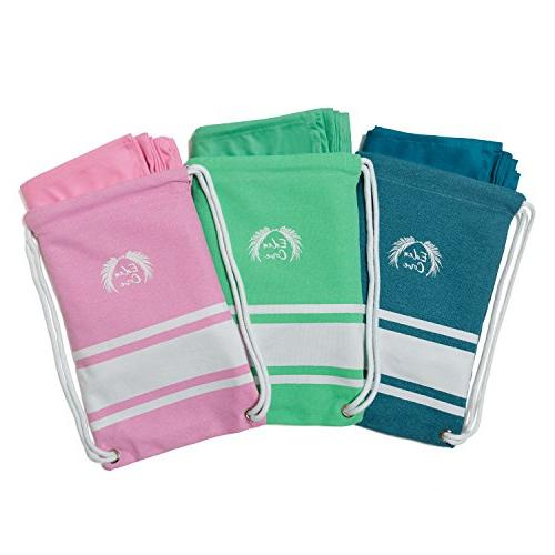 Eden Towel, Towel - Extra in Sunset Fast Absorbent for Travel,