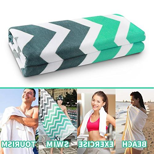 Ricdecor Beach Towel Large Beach Blanket of Super Water Beach x