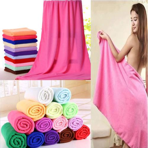 big absorbent microfiber hair drying bath beach