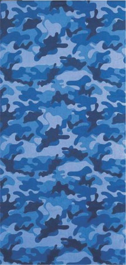 blue camouflage brazilian velour beach