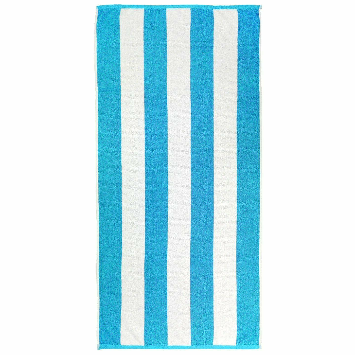 Kaufman-6-Pack Towel Cabana Terry Cotton 30in 60in