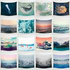Cartoon Sea Waves Art Hanging Wall Hippie Tapestry Home Deco